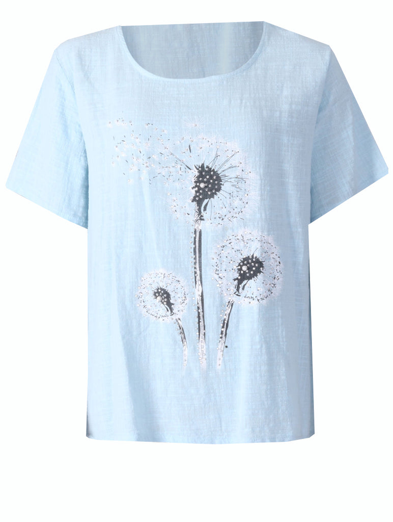 Dandelion Top - Baby Blue
