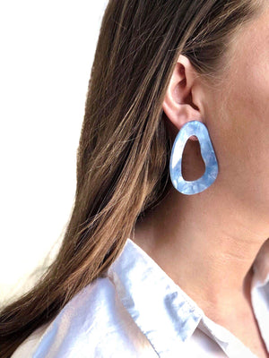 ELLA EARRINGS BLUE