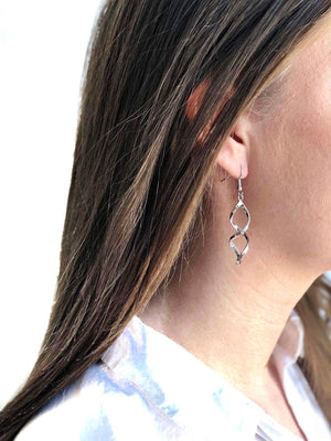 LIVA EARRINGS SILVER
