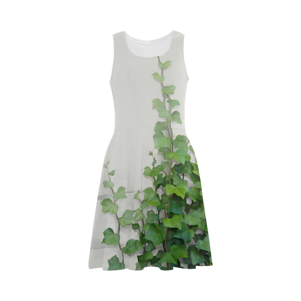 Watercolor Vines Climbing Plant Sundress