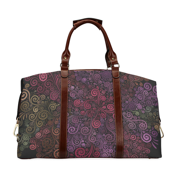 Psychedelic 3D Rose Classic Travel Bag