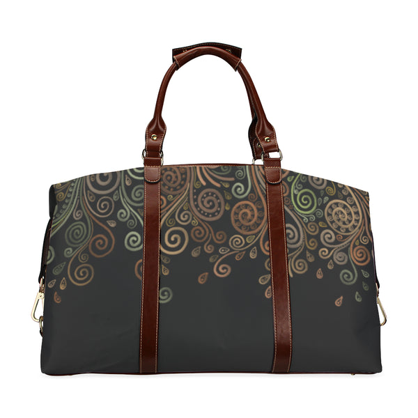 3D Psychedelic Ornate Swirl Classic Travel Bag