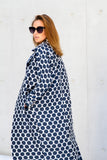 A Polka Dot Oversized PJs Coat