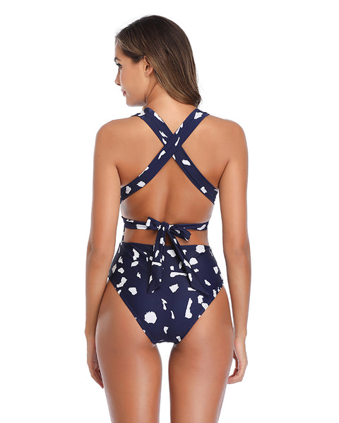Plunging One Piece Swimsuits for Women