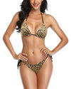 Cheetah Print Thong Bikini Set