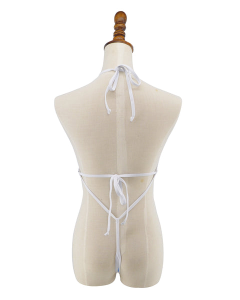 High Cut Sheer Micro Monokini G String One Piece Swimsuit