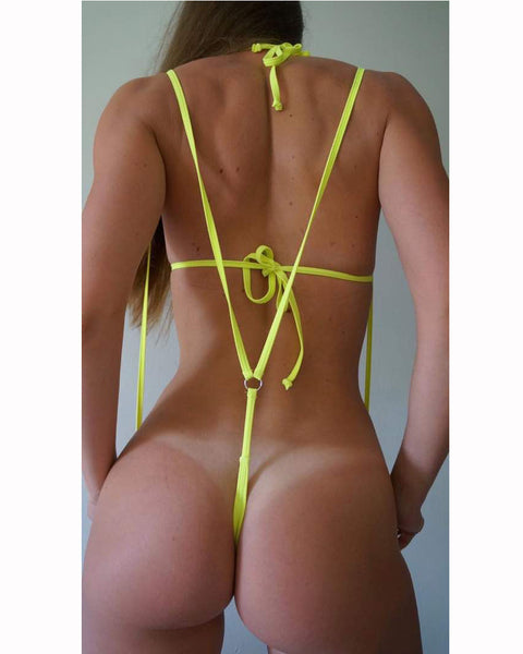 Womens Sling Shot G String Swimsuit Bottom