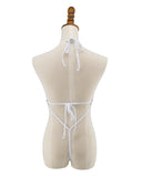 See Through Micro Monokini G String One Piece Swimsuit