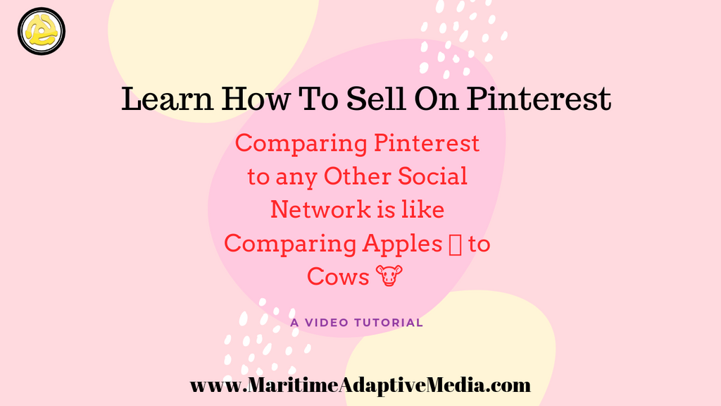 """Comparing Pinterest to any other social network is like comparing Apples 🍎 to Cows 🐮""."