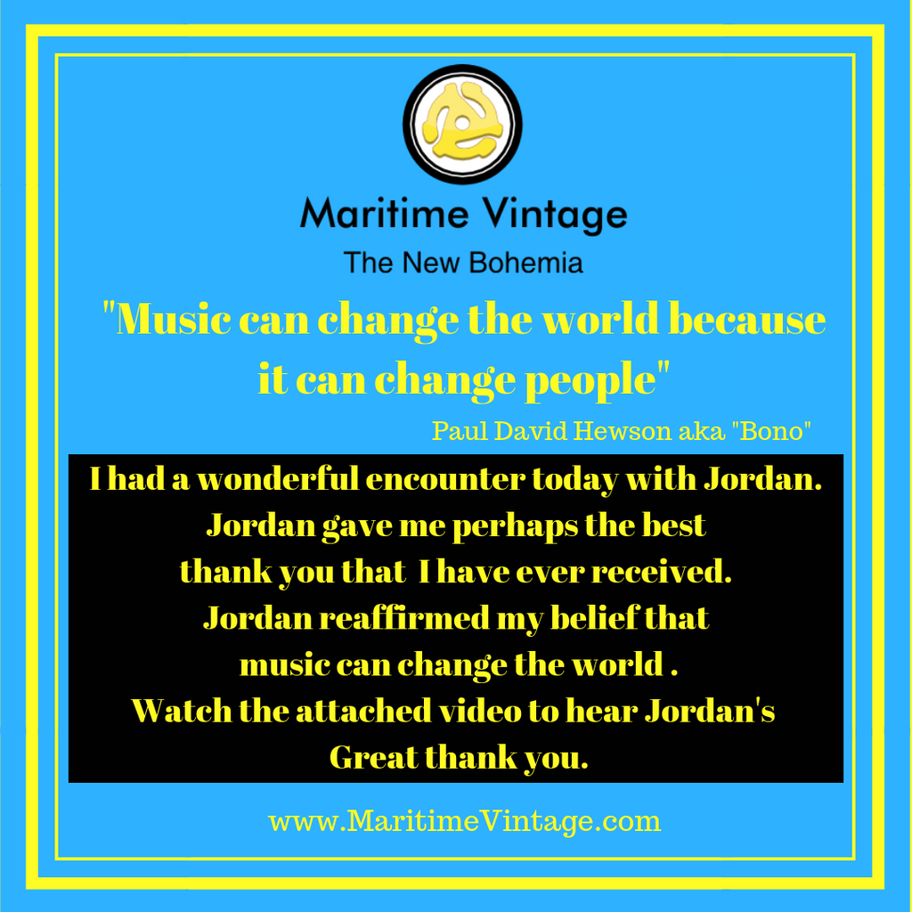 Today I'm Gonna Try and Change The World - A Maritime Moment