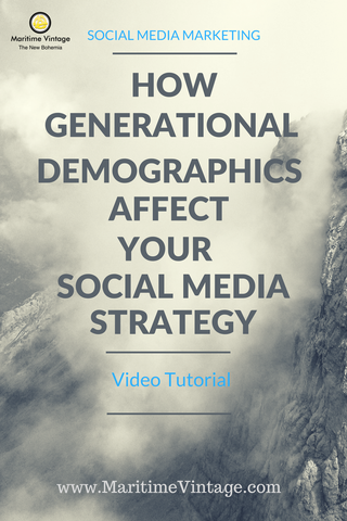 How Generation Demographics Affect your Social Media Strategy (Video Tutorial)