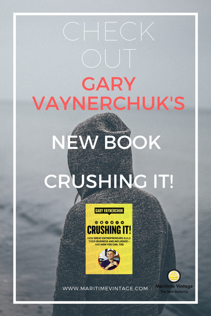 Vayner Media Social Startegy Social Media Marketing Startigy Hussle Gary Vee Gary Vaynerchuk Gary v Crushing It Check Out Gary Vaynerchuk's New Book - Crushing It! Book Review