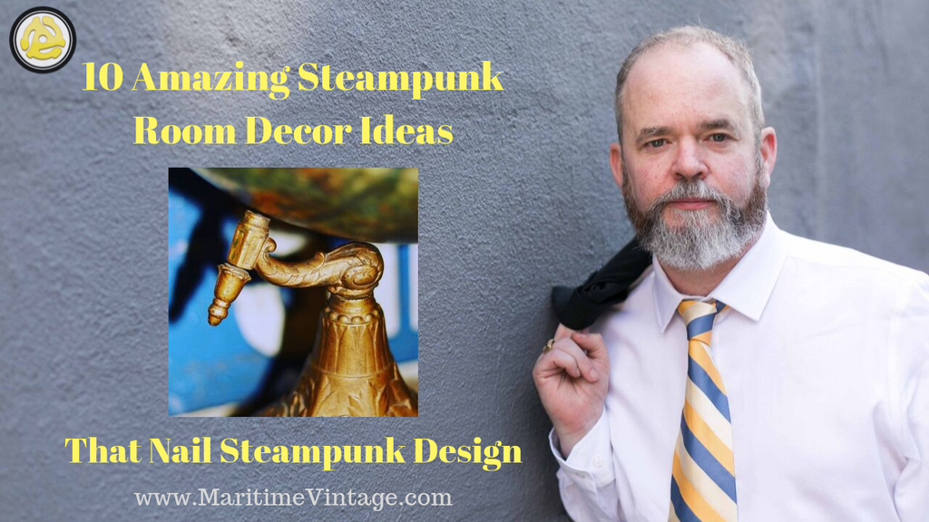 10 Amazing #Steampunk Room #Décor Ideas: That Nail Steampunk Design | 📌 Pin It on Pinterest 📌