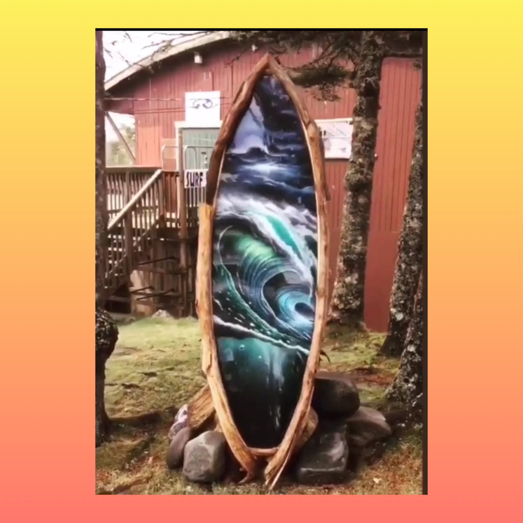 We Found a 💛 Fortnite 💚 Surfboard 💚 Portal in Nova Scotia:  Surfing Medicine for the Mind