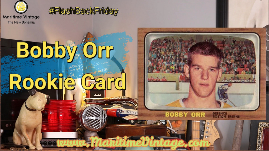 #FlashBackFriday | 💛 Bobby Orr Rookie Card 💛