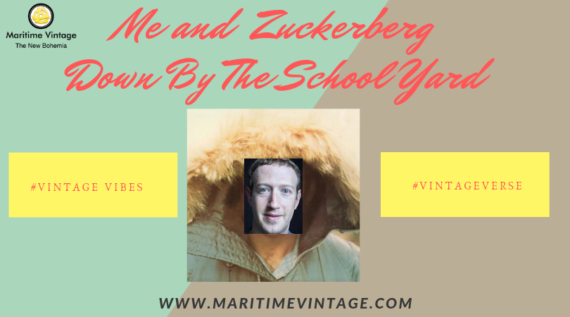 #FlashbackFriday | Me and Zuckerberg Down by the Schoolyard