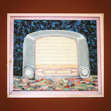 Vintage Radio oil Painting
