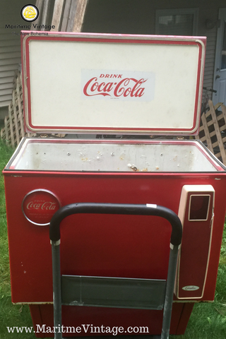 Vintage Coca Cola Cooler Your Personal Interior Designer   | A New Way To Shop | Your Personal Home Decor Specialist | You will Love Our New Home Decor Shopping Experience | How & DIY Project Tutorials  www.MaritmeVintage.com