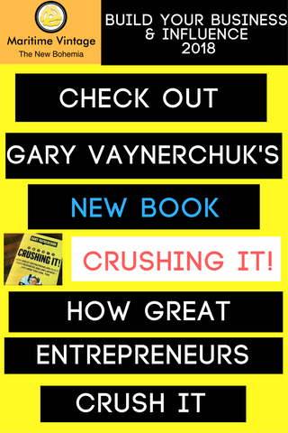 Gary Vaynerchuk's New Book Crushing It