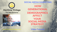How Generational Demographics Affect Your Marketing Strategy and Social Platform