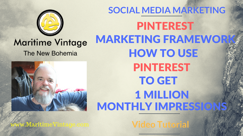 Pinterest Marketing Framework | How To Use Pinterest To Get 1 Million Monthly Impressions