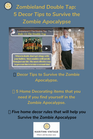 "Zombieland 2 ""Double Tap"":  5 Home Décor Projects To Survive the Zombie Apocalypse"