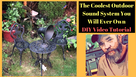 Best Wireless Outdoor Garden Speaker You Will Ever Own (DIY Video Tutorial)  The Coolest DIY Backyard Wireless Speaker Project You Have Ever Seen. Join Us For A DIY Tutorial Showing how to Turn Vintage Gramophone Speakers into Modern Wireless Outdoor Speakers that allow you to keep that Classic Garden Design Look.  Join our community at www.MaritimeVintage.com find your personal Home Décor Specialist and DIY Home Décor Project Ideas. We have Specialists that focus on Industrial Décor, Farmhouse Style Décor, Shabby Chic, Mid Century Modern, and many other styles. We have stylists that specialize in Retail Décor and Interior Decorators that can partner with you on a home design  For More DIY Decor Projects and Tips Follow Us on Instagram: https://www.instagram.com/maritimevintage/  #Garden #GardenDecor #DIYGarden #DIYProject #Outdoorspeakers #Speakers #BluetoothSpeakers #Wirelessspeakers #MaritimeVintage #Speakers #How to Install speakers