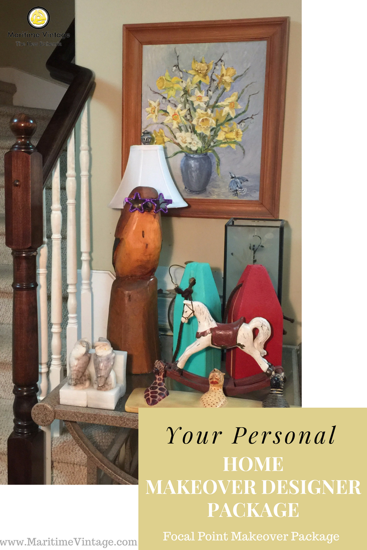 Your Personal Home Designer Makeover | Focal Point Makeover Package - Maritime Vintage