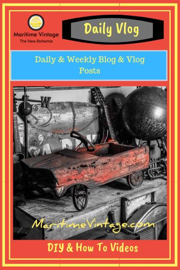 Maritime Vintage & Maritime Adaptive Media Daily Vlog  & Blog Posts