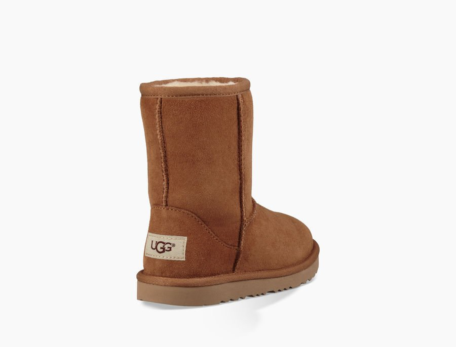 8b18684a2f Ugg Kid s Classic II Short Boot Chestnut - Foot Paths Shoes