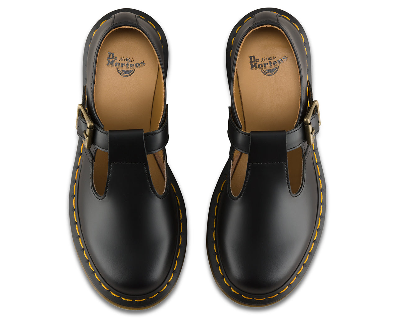 9bebf73975a9 Dr. Martens  Women s Black Polly Smooth Mary Jane - Foot Paths Shoes