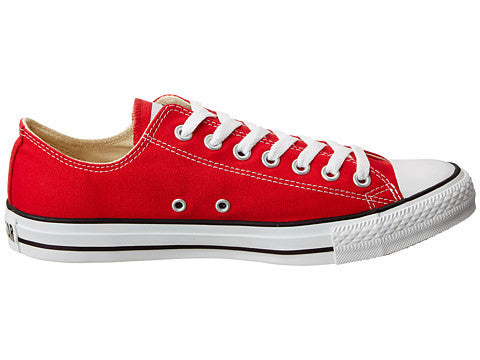 8625d6a0e52fd2 Converse Unisex Red Chuck Taylor All Star Low Top - Foot Paths Shoes