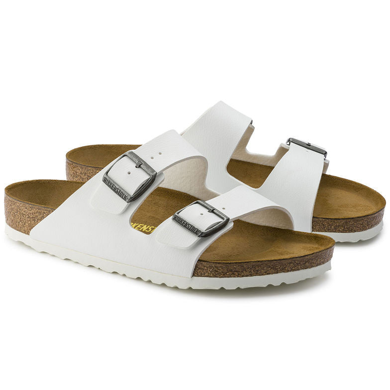 248c921122f Birkenstock Women s Arizona Birko-Flor White - Foot Paths Shoes