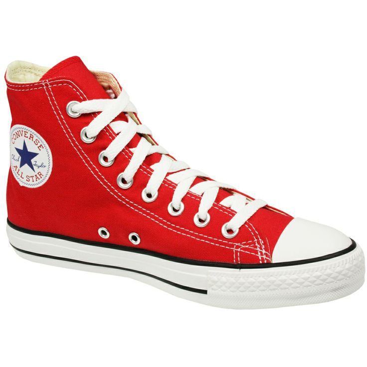 Tops Hot Converse Star Fdb85 High Aca49 All Red 5R43ALqj