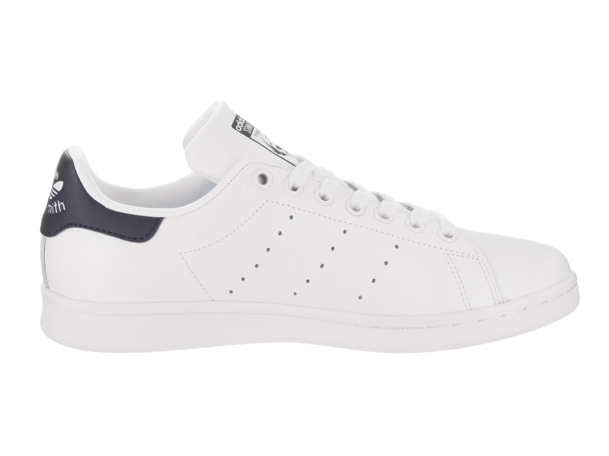 new york 40818 79488 Adidas Women's Stan Smith Shoes White/Navy Blue