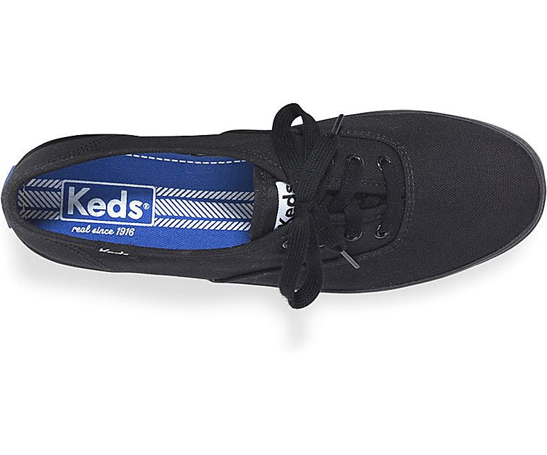 Keds Women s Black Black Champions Original - Foot Paths Shoes 1da956d70