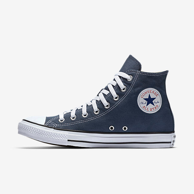 e95ea4dfd2fd42 Converse Unisex Navy Chuck Taylor All Star High Top - Foot Paths Shoes
