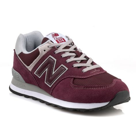 dd73c4afee647 New Balance Men's 574 Shoe Burgundy - Foot Paths Shoes