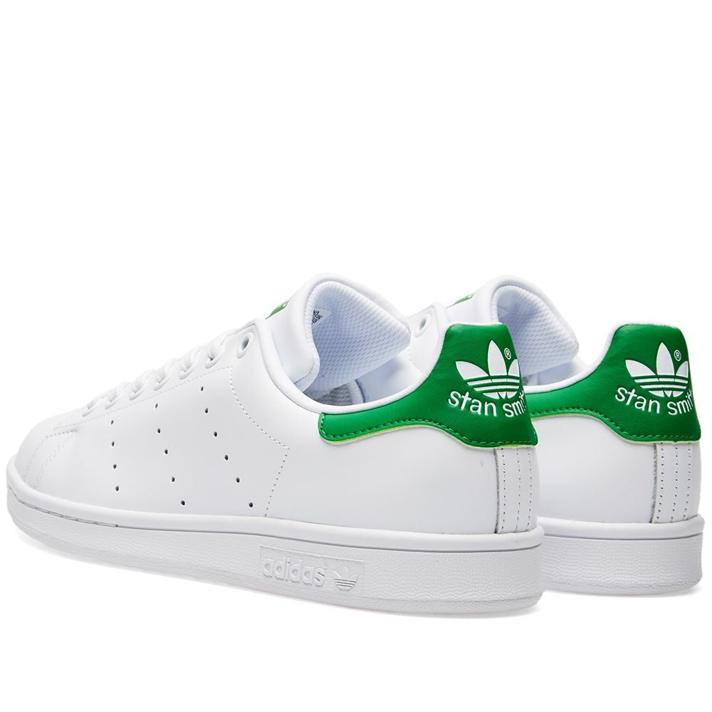newest cd1a5 09abe Adidas Women's Stan Smith Shoes White/Green