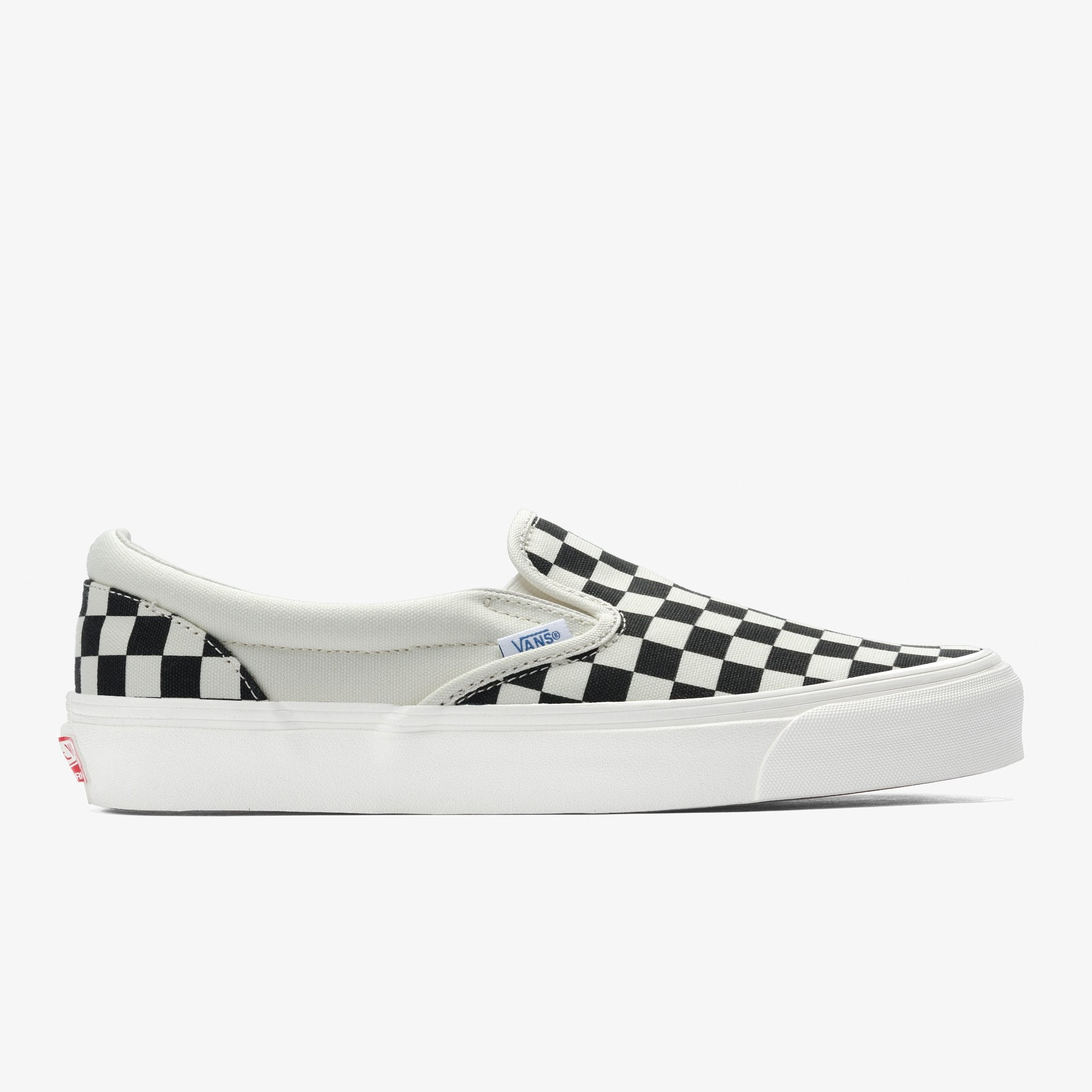 2c1948460ea Vans Unisex Checkerboard Slip On Black Off White - Foot Paths Shoes