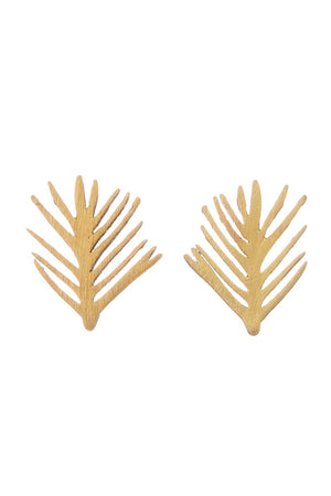 Leaf Stud Earrings