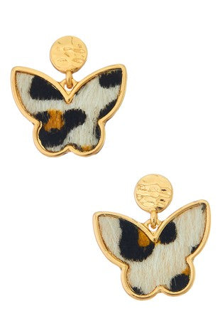 Leo Butterfly Earrings