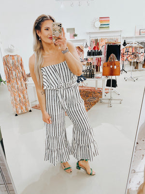 Cassidy Strapless Jumpsuit