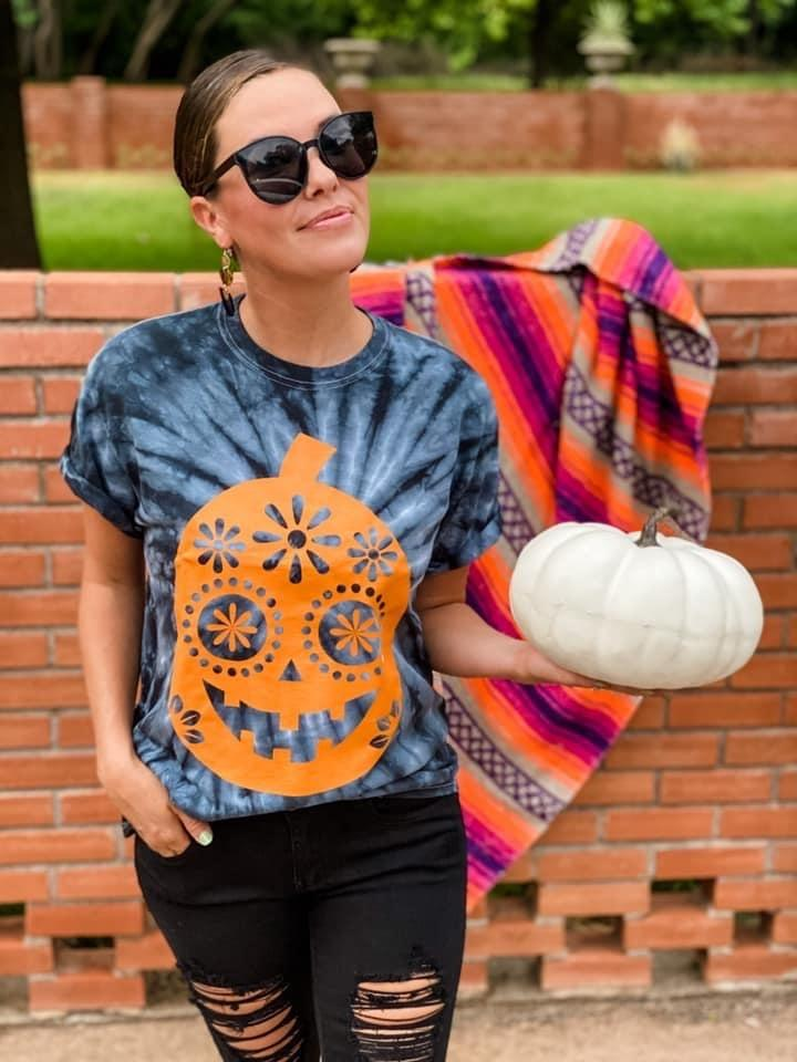 Dia Del Pumpkin Tee *Final Sale*
