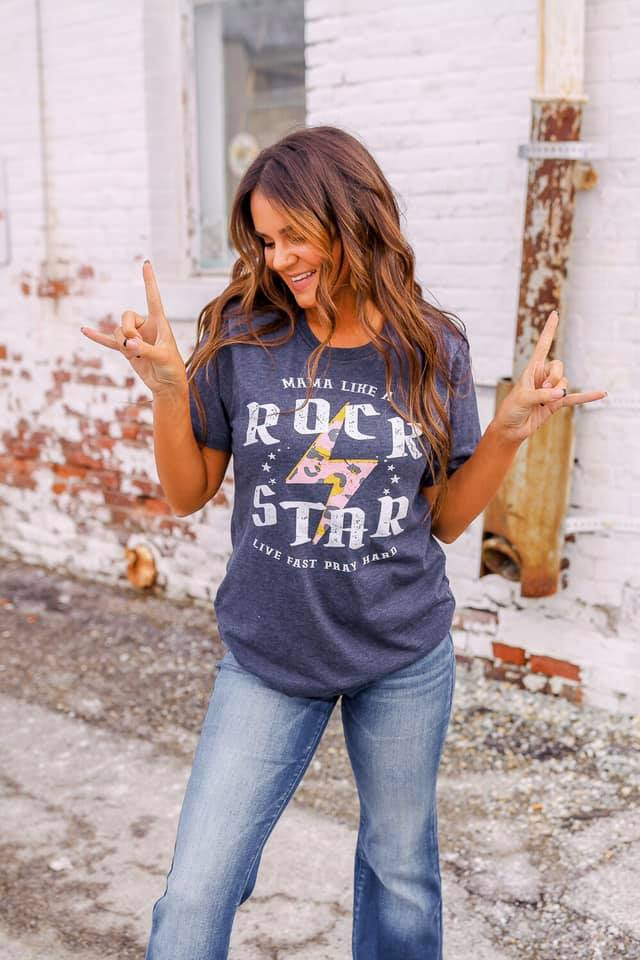 Rock Star Mom Tee