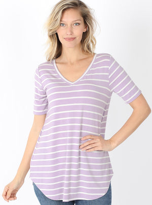 ZZZTianna Striped Top