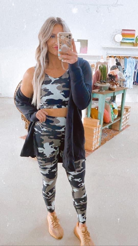 Jungle Camo Leggings
