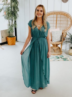 Tammi Maxi Wrap Dress