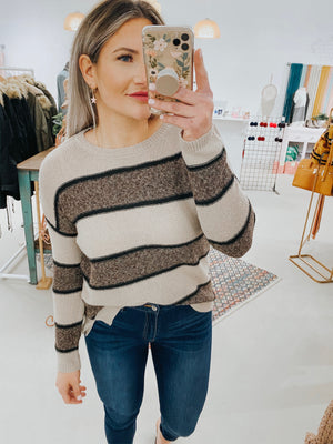 Phoebe Striped Sweater