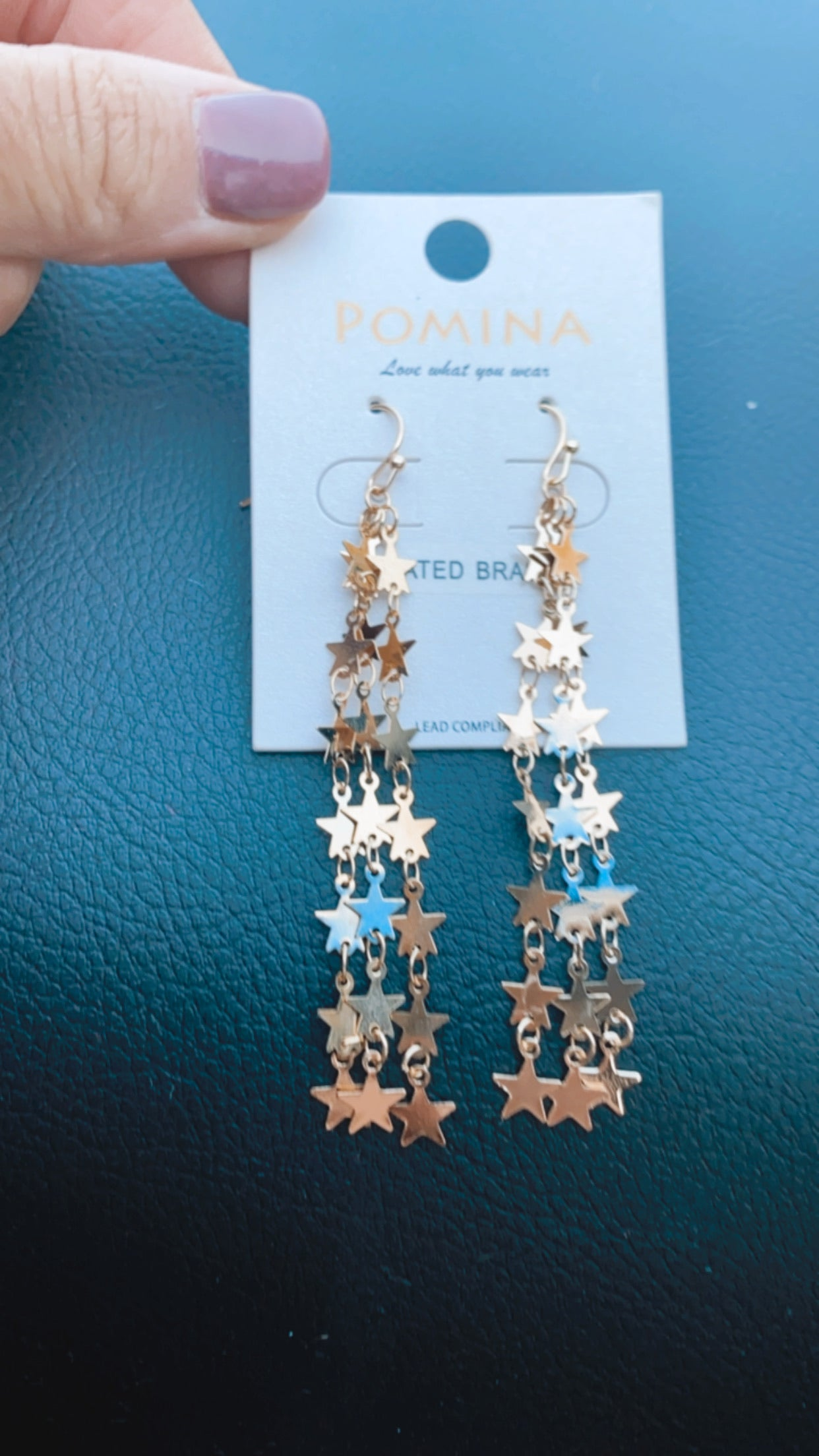 Stars Nights Dangle Earrings